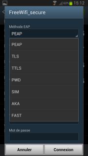 comment se connecter a free wifi avec une tablette