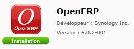 OpenERP sur Synology DiskStation 1511+