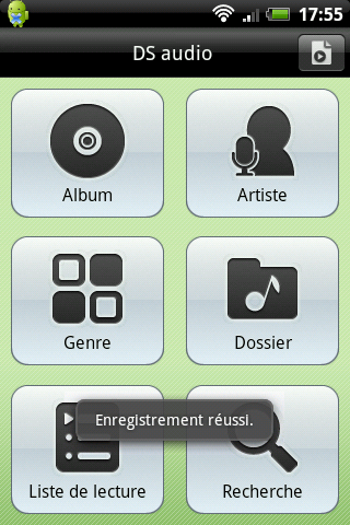 Interface de DS Audio