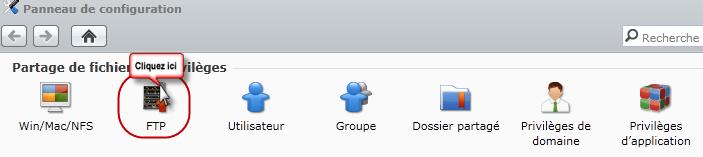 Choisir Serveur FTP
